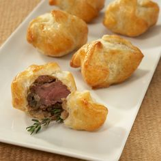 omg... mini beef wellington, pure delectable genius, did it with beef and one time with chicken!