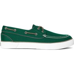 RALPH LAUREN Lander boat shoes Jade green for 2013 - I love these!