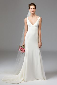 Watters bridal collection spring 2017: http://www.stylemepretty.com/2016/04/18/watters-bridal-week-spring-2017/