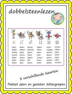 Open en gesloten lettergrepen – Weg van onderwijs Afrikaans Language, Ice Breakers, Speech Therapy, Kids Learning, Grammar, Circuit, Classroom, Letters, Teaching
