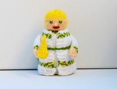 Ghost of Christmas Past Doll - A Christmas Carol - Knitting Pattern - PDF E-Mail £2.60
