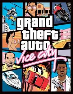 GTA VICE CITY! My best friend and I would play this game growing up. Reason #203 I'm kind of fucked up. IN A GOOD WAY