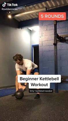 Kettlebell Workout Routines, Core Workout Routine, Best Kettlebell Exercises, Plyometric Workout, Gym Workout Videos, Kettlebell Training, Gym Workout For Beginners, Workout Guide, Gym Workouts