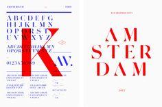 Les Graphiquants - Amsterdam, Typeface design.