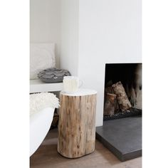 ideas for tree trunk bench log stools