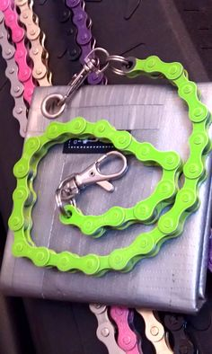 Bike Chain Wallet Chain  Single Color by BeachBMXDesigns on Etsy, $16.99