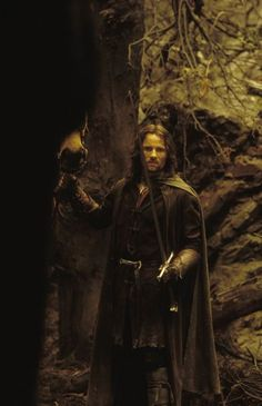 Aragorn...quite manly i think...