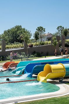 Euphoria Resort, Chania, Crete, Greece - In a specially designed area, supervised by trained personnel, kids can find exciting games to exhaust their energy, make new friends, laugh and enjoy their vacation. Top-of-the-range water slides (4 fast slides) fulfilling all safety measures and a huge swimming pool are the ultimate entertainment for your family. Waterfalls and adventurous towers are the magical scenery for kids and adults, to experience magnificent moments. In the waterpark you can… Crete Greece, Water Slides, Make New Friends, Quality Time, Fun Activities, Swimming Pools, Scenery, Beer, Entertaining