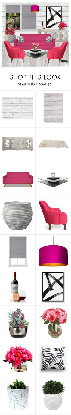"""""""Home Decor"""" by avramraisa ❤ liked on Polyvore featuring interior, interiors, interior design, home, home decor, interior decorating, Brewster Home Fashions, Lene Bjerre, Kate Spade and Mark & Graham"""