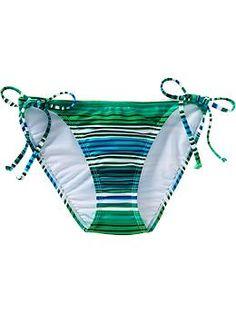 Women's Mix & Match String Bikini Bottoms | Old Navy