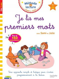 Je lis mes premiers mots avec Sami et Julie Dès 5 ans French Learning Books, Always Here For You, Amazon Shares, Lus, Julie, Kindle App, Book Girl, Learn French, Ebook Pdf