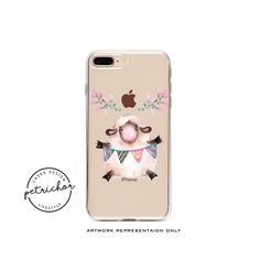 Cute Sheep iPhone Case - iPhone 7 Case - iPhone 7 Plus Case - iPhone 6 Case - iPhone 8 Case - iPhone X Case - iPhone 8 Plus Case - Clear by PetrichorCases on Etsy Iphone 8 Plus, Iphone 7 Cases, Phone Case, Iphone 6, Cute Sheep, Etsy, Cell Phone Cases, Phone Covers, Phone Cases