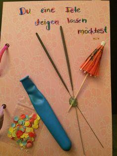 DIY - Wenn-Buch ... wenn du eine Fete steigen lassen möchtest