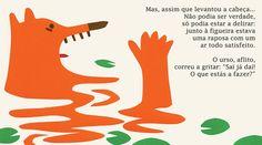 Illustrations by Bernardo P. Carvalho, in Os Figos São Para Quem Passa, by João Gomes de Abreu, Planeta Tangerina, in stock £11.70.