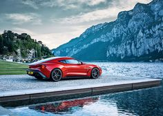 Unveiling the exhilarating Vanquish Zagato. Thanks to unprecedented customer interest, a strictly limited production run of 99 cars will be built to order by Aston Martin. astonmartin.com/vanquishzagato