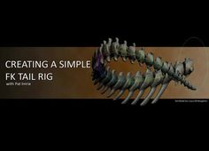 This is just a simple workshop on how to use the Connection Editor in Maya to set up a single control operated FK tail rig. T-Rex Skeleton model by Laura McNaughton. Maya, 3d Computer Graphics, Skeleton Model, Blender Tutorial, V Games, Animation Tutorial, 3d Tutorial, Animation Reference, 3d Max