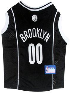 Pets First NBA Brooklyn Nets Mesh Jersey ** Unbelievable dog item right here! : Dog shirts