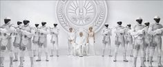 #hungergames #mokingjay #capitol #white #peacekeepers #snow #peeta #johanna
