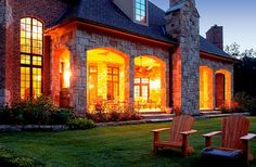 French Country Estate - traditional - exterior - detroit - VanBrouck & Associates, Inc.