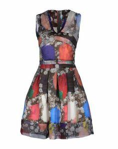 Chrisopher Kane Patterned Dress