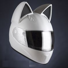 I don't care what this is actually for it's officially for me to be in Daft Punk.  Neko-helmet with cat ears