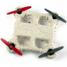 Drone grown from fungus-like material  melts if it crash lands