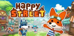 Happy Street, mejora poco a poco una calle llena de animales antropomórficos  http://www.xatakandroid.com/p/86285