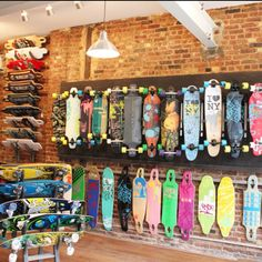 Longboards! Claire someday we gotta stalk this place down ! I'm guessing it's in NYC