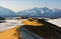 Siberian desert is an extensive geographical region, and by the broadest definition is also know as North Asia Desert Ecosystem, North Asia, Winter Mountain, Central Asia, Natural Wonders, Natural World, Earth, Explore, Mountains