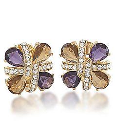 Purple Haze Jeweled Studs