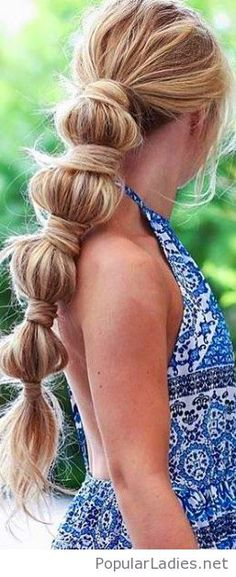 My kind of ponytail