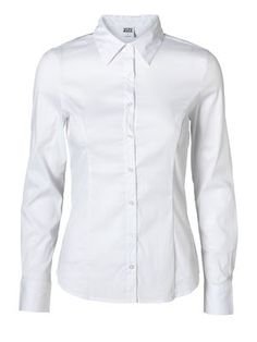 COUSIN PRINCESS LS SHIRT NOOS, OPT.WHITE, main