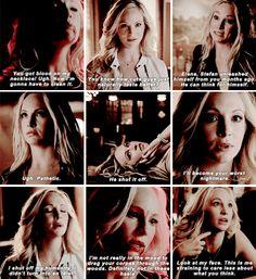 """#TVD 6x16 """"The Downward Spiral"""" - Caroline"""