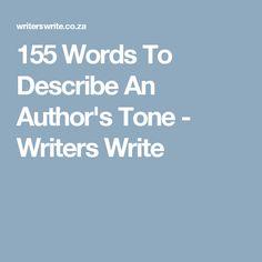 tone in writing