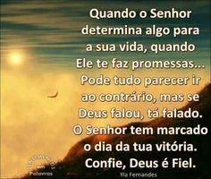 Deus é fiel!