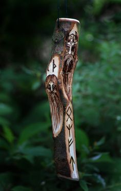 Great carved staff
