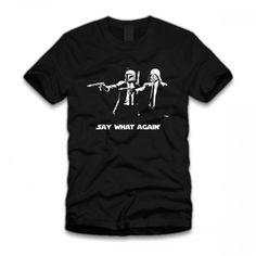Say What Again T-Shirt #starwars #darthvader #bobafett #pulpfiction #shirts