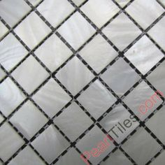 Pure White Mother Of Pearl Mosaic Tiles MOP Tiles