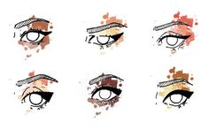 The cat-eye or winged eyeliner is always in style and is super easy to recreate. Check out these steps to create a simple winged eye with a liquid pen! Types Of Eye Shapes, Types Of Eyes, Winged Eye, Winged Liner, Beauty Tutorials, Beauty Hacks, Dove Wing, Media Makeup, Perfect Cat Eye