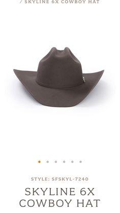 690 Best cowboy hats images in 2019  6513fd7b136e