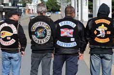 Members+of+Hells+Angels+MC,+Nomads+MC,+Rebels+MC+and+Bandidos? Bandidos Motorcycle Club, Outlaws Motorcycle Club, Motorcycle Posters, Biker Clubs, Motorcycle Clubs, Trike Motorcycle, Outlaws Mc, Harley Davidson, Bike Gang