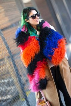 Day 6 of NYFW Street Style! See all of the chic looks here