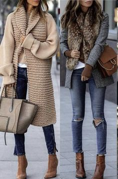 Mode Outfits, Stylish Outfits, Fashion Outfits, Womens Fashion, Mode Kimono, Look Blazer, Mode Boho, Looks Chic, Casual Winter Outfits