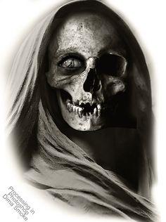 Skulls n Skeletons Tattoo Sketches, Tattoo Drawings, Badass Drawings, Totenkopf Tattoos, Skulls And Roses, Celtic Tattoos, Dark Photography, Skull Tattoos, Tattoo Ideas