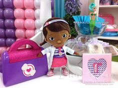 Doc Mc Stuffins Birthday Party Ideas | Photo 19 of 31 | Catch My Party