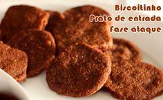 Biscoito de micro-ondas - Receitas dukan #receitas #receitasdukan #faseataque #dukan