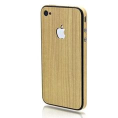 Slickwraps Maple Wood Full Body Wrap for Apple iPhone 4/4S - wood grain