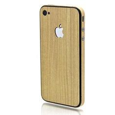 Slickwraps Maple Wood Full Body Wrap for Apple iPhone 4/4S - wood grain