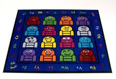 Silly Seats Classroom Rug! Everyone sits on a couch!!