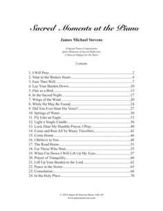 Sacred Moments At The Piano By James Michael Stevens Pandora Radio, Digital Sheet Music, Easy Piano, Piano Sheet Music, Piano Lessons, Mind Blown, In This Moment, Songs, Writing